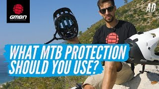 What MTB Protection Should You Use? | Mountain Bike Helmets And Pads