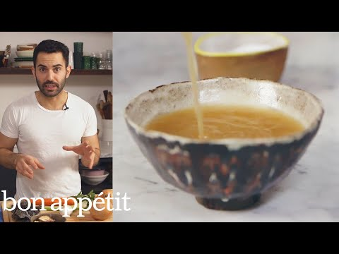 How to Make the Most Flavorful Vegan Broth Ever | Bon Appétit