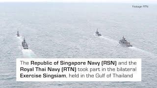 RSN & Royal Thai Navy in Bilateral Maritime Exercise (Ex Singsiam 2018)