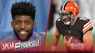 Baker Mayfield only beat the worst team in the NFL, I need more — Acho   NFL   SPEAK FOR YOURSELF