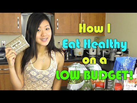 How I Eat Healthy On A Low Budget! (Cheap & Clean) - Smashpipe Style