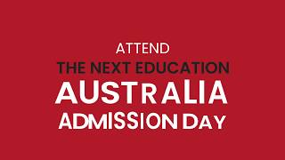 The Next Education Admission Day 2019: November 30