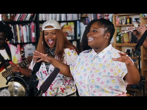 Tank And The Bangas: NPR Music Tiny Desk Concert