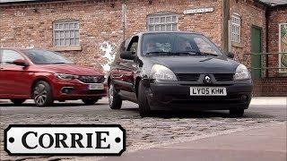 Coronation Street - Kayla Deliberately Crashes Her Car