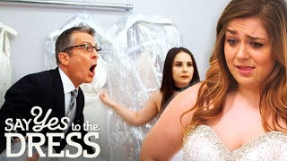 Picky Bride Doesn't Seem Excited With Her Dress Options | Say Yes To The Dress America