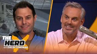 Brandon Staley on new Chargers coaching job, Justin Herbert, Rodgers vs. Brady | NFL | THE HERD