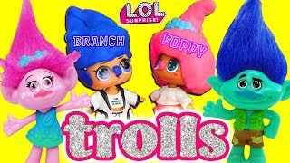 LOL Surprise Dolls Perform the Trolls Movie! Starring Angel, Foxy, Snuggle Babe, and MC Swag!