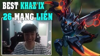 GAM Levi (17/12/2017) Best Kha'zix trở lại rank Việt