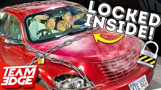 TRAPPED in an INESCAPABLE Car!! *SURVIVAL Challenge!!*