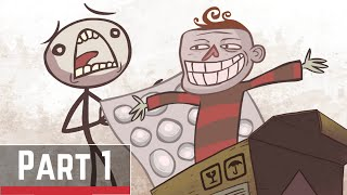 Troll Face Quest Unlucky Stickman [LEVEL1 - 22]Android/IOS Gameplay Part 1 - Comedy Game