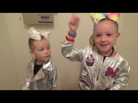 Baldi's Basics in Real Life in JoJo's Closet! JoJo Siwa New Merch Scavenger Hunt!