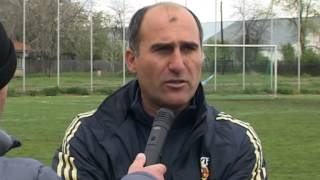 Gheorghe Durlea - antrenor Rapid Buzescu 12.04.2014