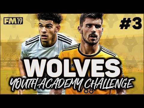 WOLVES YOUTH ACADEMY CHALLENGE #3: NEW TACTIC - FOOTBALL MANAGER 2019