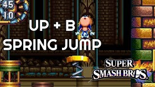 Up + B - Sonic's Spring Jump from Smash Bros. - Sonic Mania Plus
