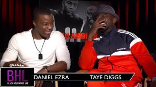 'All American' Stars Taye Diggs & Daniel Ezra Talk About The Much Anticipated New CW Show