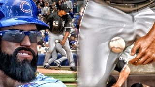 PITCHER HIT IN NUTS BY BASEBALL?! MLB 16 THE SHOW Road to the Show Gameplay Ep. 20