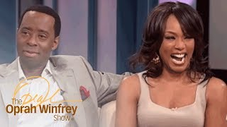 "Angela Bassett and Courtney B. Vance: ""Boring"" First Date to Marriage 