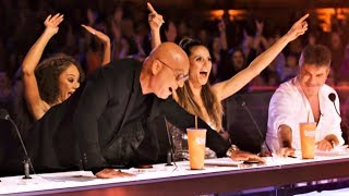 ALL 5 INCREDIBLE GOLDEN BUZZER America's Got Talent 2018