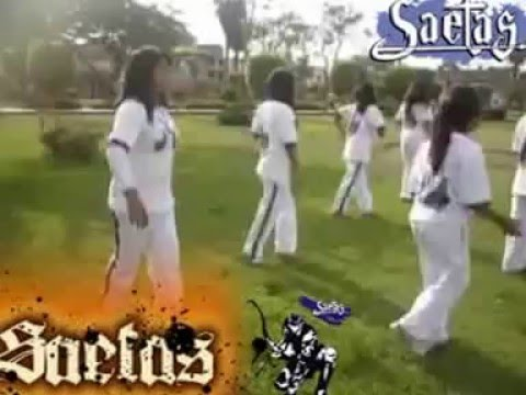 coreografía cristiana Eres todopoderoso remix lindo viaje del grupo Saetas