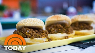 Try Katie Lee's Recipes For Super Bowl: Sloppy Joes With A Side Of Guacamole | TODAY