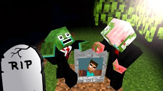Monster school : RIP Herobrine - Minecraft Animation