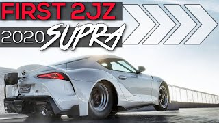 Here is The First 2JZ Swapped 2020 A90 Supra!