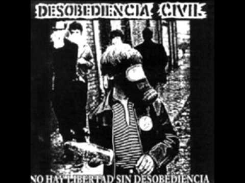 Desobediencia Civil - Nuestro Sentir