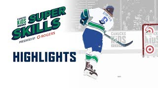 2018-19 Canucks For Kids Fund SuperSkills Highlights