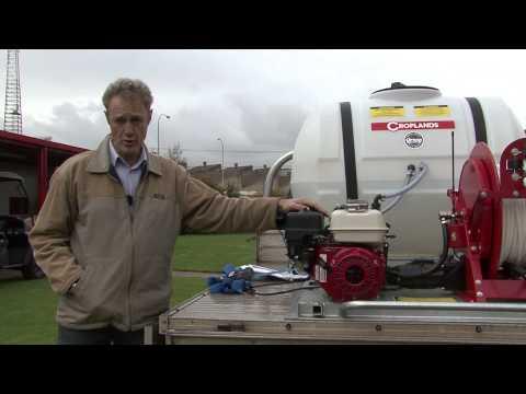 Croplands | CropPak 500 litre sprayer | Demonstration