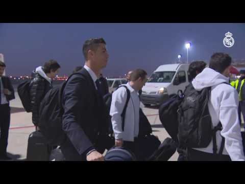 The start of Real Madrid's journey to Japan