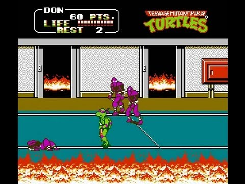 snes longplay 094 teenage mutant ninja turtles 4