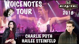 CHARLIE PUTH - VOICENOTES TOUR 2018 W/ HAILEE STEINFELD (Mohegan Sun Uncasville, CT)