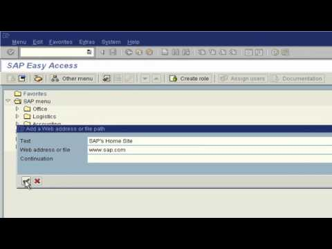 SAPinsight Tip: Adding non SAP Objects to Favorites.mp4