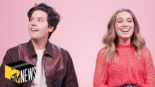 Cole Sprouse & Haley Lu Richardson Reveal Their 1st Impressions Of Each Other | MTV News