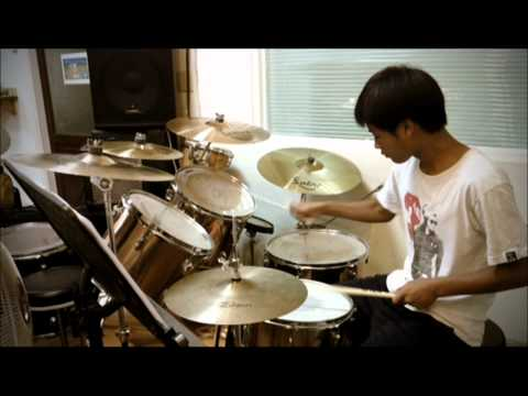 one way (約書亞樂團) -- drum cover