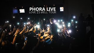 Phora Performs 'To The Moon', 'Holding On', 'Feel' + Much More Live | Love Is Hell Tour