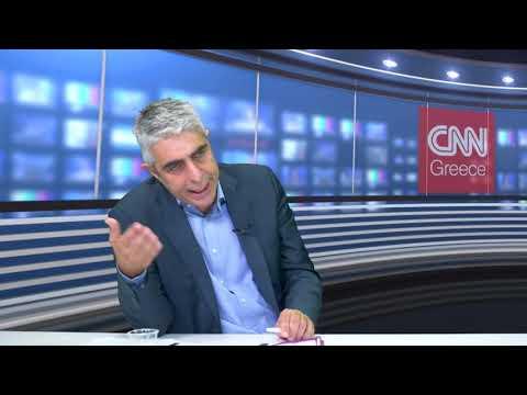 Ο Γιώργος Τσίπρας, υποψήφιος βουλευτής Δυτικής Αττικής, στο CNN Greece
