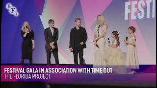 THE FLORIDA PROJECT Q&A | BFI London Film Festival 2017