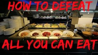 How to beat the All You Can Eat Buffet
