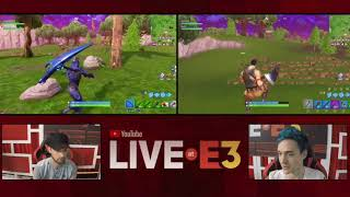 Ninja and Ali-A duo at E3 Ninja talks about the Llama Nerf