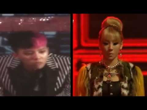 GD watching 2NE1