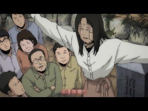 【宇哥】父亲做了只稻草人插在女儿墓前,它却越来越像真人《伊滕润二惊选集:超自然转校生/稻草人》