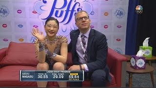 2016 U.S. Nationals - Mirai Nagasu SP NBC