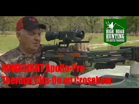 Armasight Thermal Crossbow TX Hog and Oregon Black Bear