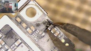 iphone 7 no power shorted تتبع العطل في تصليح ايفون 7 لا يفتح ...