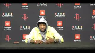 """John Wall: """"We look like an AAU team...That's who we look like in a couple games this season."""""""