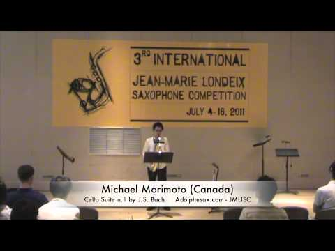 3rd JMLISC: Michael Morimoto (Canada) Cello Suite n.1 by J.S. Bach