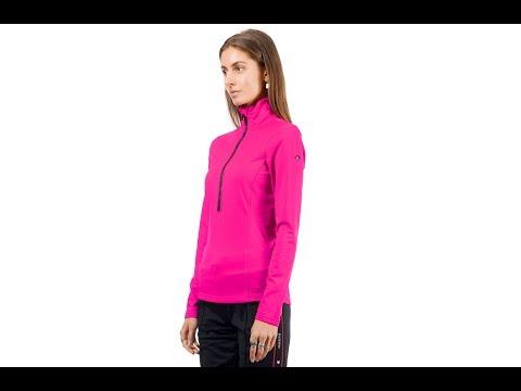 Goldbergh Serena Womens Baselayer Top in Wow Pink