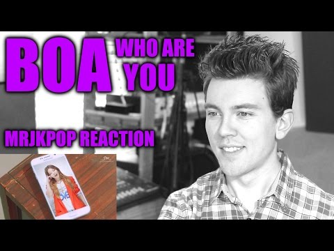 BoA Who Are You Reaction / Review - MRJKPOP ( 보아 Feat. 개코 )