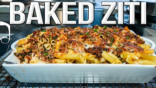 EASY BAKED ZITI PASTA RECIPE | SAM THE COOKING GUY 4K